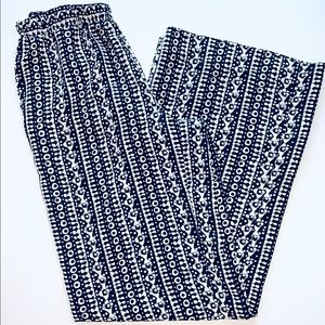 Philosophy Batik Wide Leg Pants EUC